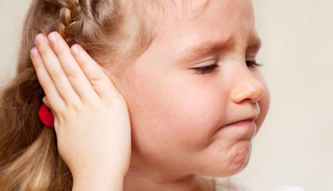 dolor de oido en ninos